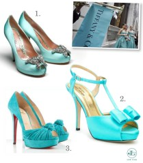 Tiffany Blue Heels Wedding Shoes