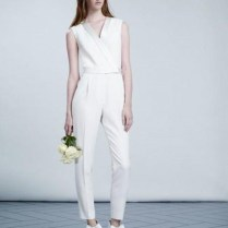 Unconventional Wedding Outfit Pant Suit