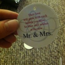 Wedding Bubbles Quotes