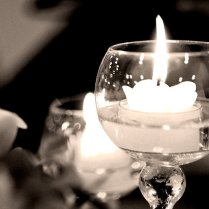 Wedding Candles By T