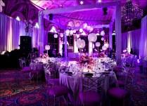 Wedding Decoration Ideas Indoor Reception Purple And Silver