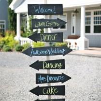 Wedding Directional Signs Wedding Decorationsthe Wedding Of My