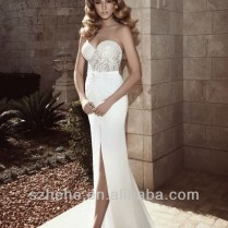 Wedding Dresses With Front Slits