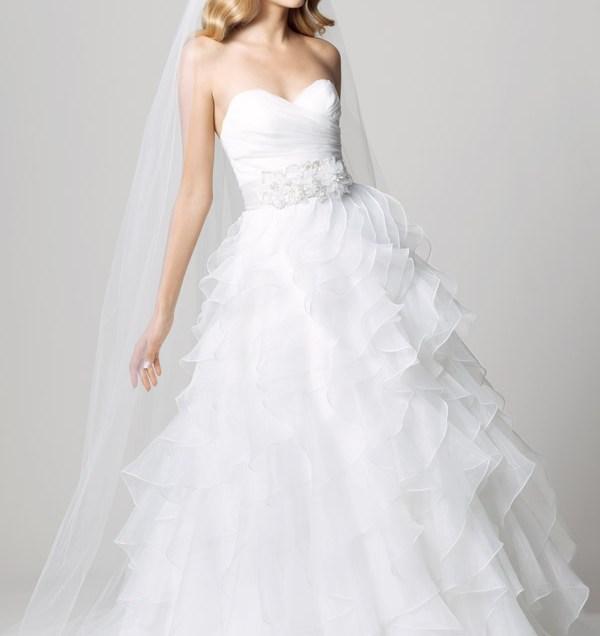 Wedding Dresses With Ruffled Skirt – Dresswedding