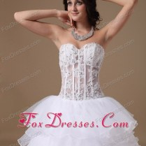 Wedding Gowns Sheer Bodice