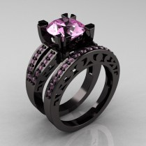 Wedding Rings Black Metal Wedding Rings