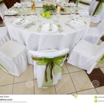 Wedding Table And Chair Decorations