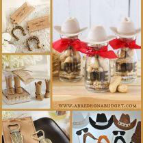 Western Wedding Ideas Enchanting Western Wedding Party Favors