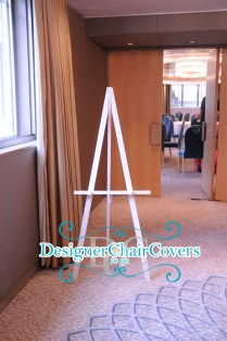 White Easel Hire
