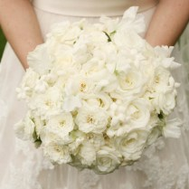 White Rose Bouquet Ideas