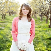 Winter Wedding Warmth With Cardigans