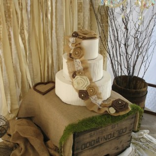 1000 Ideas About Burlap Cake On Emasscraft Org