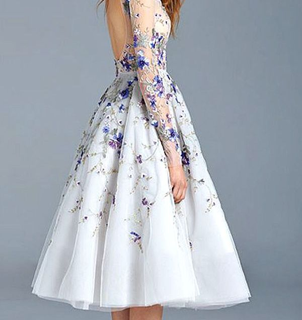 1000 Ideas About Floral Wedding Dresses On Emasscraft Org