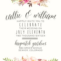 1000 Ideas About Floral Wedding Invitations On Emasscraft Org