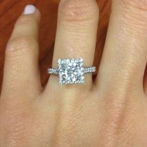 1000 Ideas About Square Engagement Rings On Emasscraft Org
