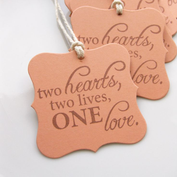 Wedding Sayings For Favors