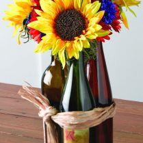 1000 Ideas About Wine Bottle Flowers On Emasscraft Org