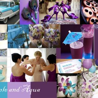 1000 Images About Aqua & Purple Wedding On Emasscraft Org