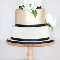 1000 Images About Black, White And Gold Wedding Colors On