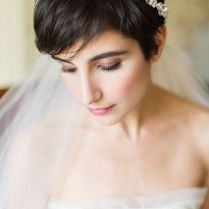 1000 Images About Short Wedding Hairstyles Coiffure Mariage