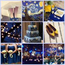 1000 Images About Theme Van Gogh's Bella Notte (starry Starry