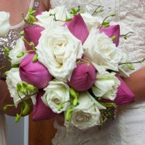 10 Best Images About Lotus Wedding Bouquet On Emasscraft Org