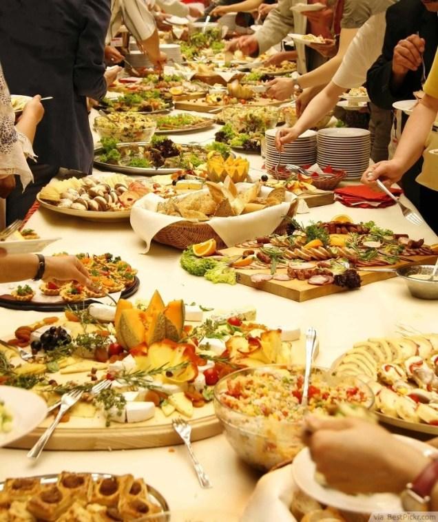 15 Great Wedding Reception Food Ideas