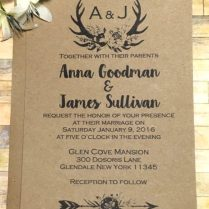 21 Country Wedding Invitation Templates