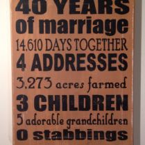 40th Wedding Anniversary Presents For Parents