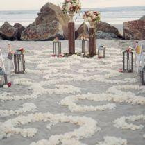 50 Beach Wedding Aisle Decoration Ideas