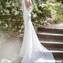 60 Perfect Low Back Wedding Dresses
