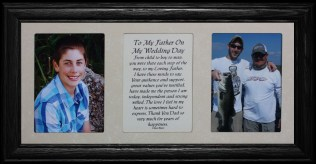 7x15 To My Father On My Wedding Day From Son Poetry & Photo