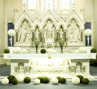 Altar Decorations For Wedding