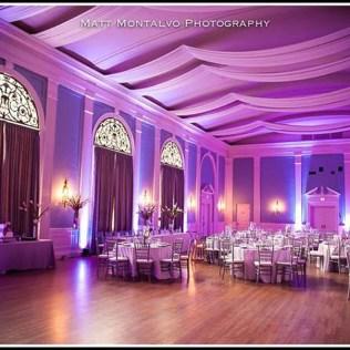 Austin Wedding Reception Lighting, Venue Uplighting, Ambient Lights