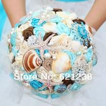 Beach Themed Bridal Bouquets