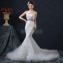 Belted Mermaid Wedding Dress Pictures, Photos, And Images For
