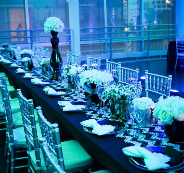 Blue And Black Wedding Themes