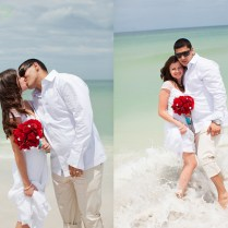 Brianna & Christian Clearwater Ceremony & New Tampa Reception