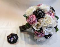 Camo Wedding Bouquet, Bridal Bouquet, Mossy Oak Camo, True Timber