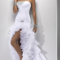 Cheap Wedding Dresses With Slits Up The Leg