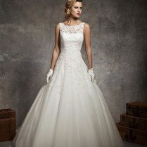 Collection Sleeveless Wedding Dresses Pictures