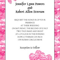 Country Rustic Camo Wedding Ideas And Wedding Invitations 2014