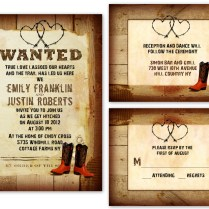 Country Wedding Invitations Templates Free