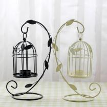 Creative Wedding Gifts Wrought Iron Bird Cage Candle Holder
