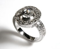 Custom Wedding Rings Personalized Wedding Jewelry Titanium Wood