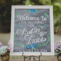 Diy Chalkboard Wedding Signs A Simple Hack