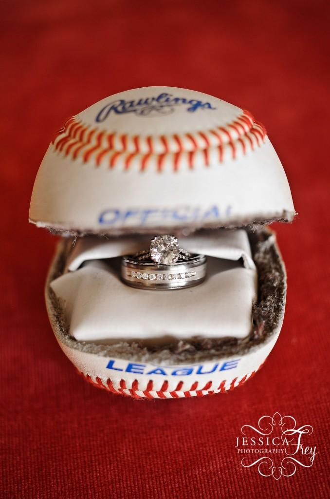 Baseball Wedding Band