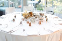 Each Table At This Couple's Wedding Was Inspired By A Different