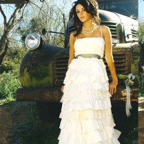 Elegant Country Style Themed Wedding Dresses, Invitations& Favors