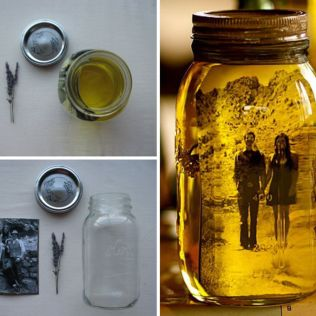 Fall Wedding Centerpieces With Mason Jars